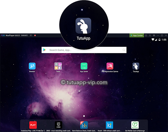 tutuapp on windows pc