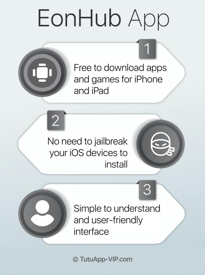 eonhub app infographic