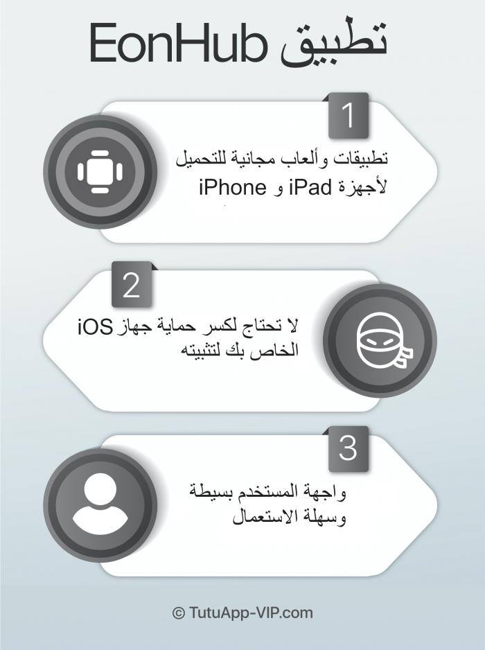 EonHub App Arabic