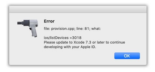 cydia-impactor-please-update-to-xcode-7-3-or-later