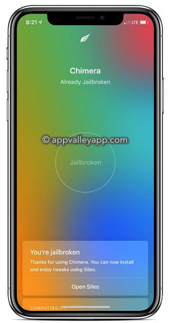 chimera jailbreak iphone x